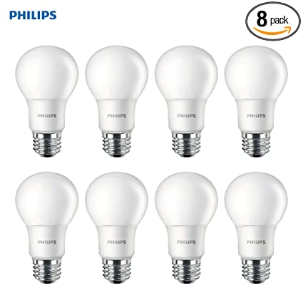 Philips LED Non Dimmable A19 Frosted Light Bulb: 1000 Lumen, 2700  Photo Gallery