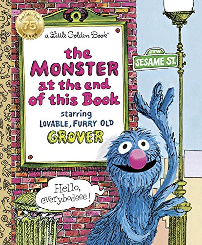 The Monster at the End of This Book (Toddler Halloween Ideas)
