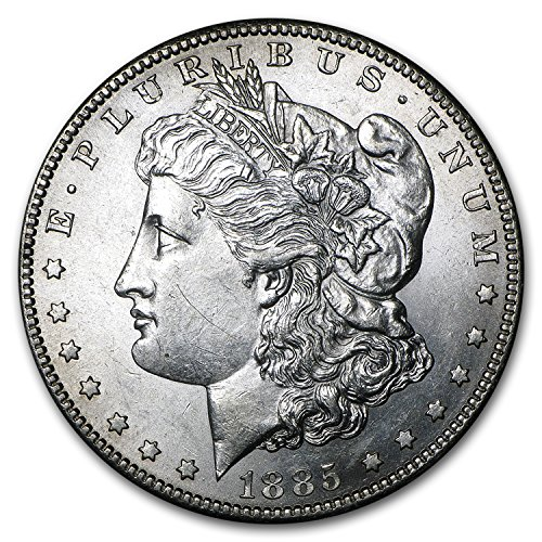 (1885 S Morgan Dollar AU Dollar About Uncirculated)