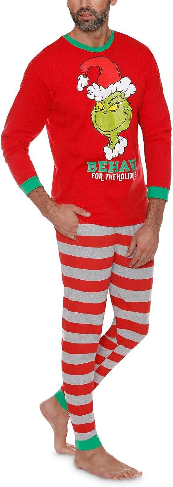 Inicio Ropa Disfraz de Grinch Pijamas Familiares Cosplay Sudaderas ...