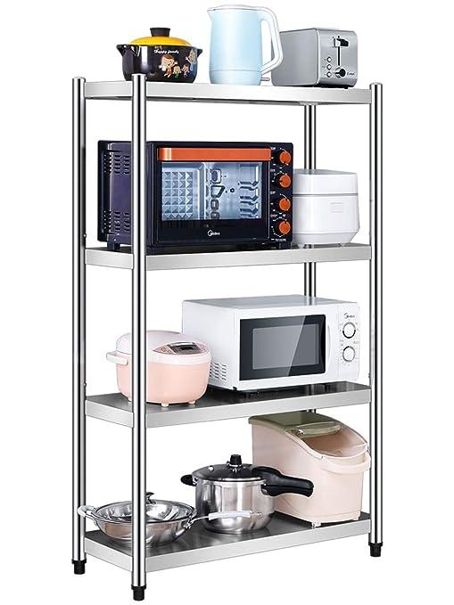 ZK Racks de Almacenamiento Horno de microondas Rack Cocina Cuarto ...