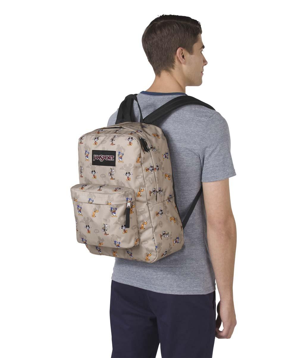 JanSport Disney Superbreak Backpack (Fab Shadow) by JanSport (Image #4)