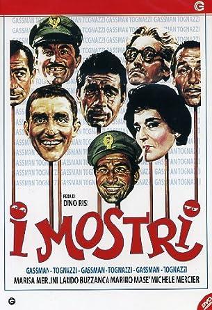 I Mostri: Amazon.it: Ugo Tognazzi, Lando Buzzanca, Vittorio Gassman, Marisa  Merlini, Marino Mase', Dino Risi, Ugo Tognazzi, Lando Buzzanca: Film e TV