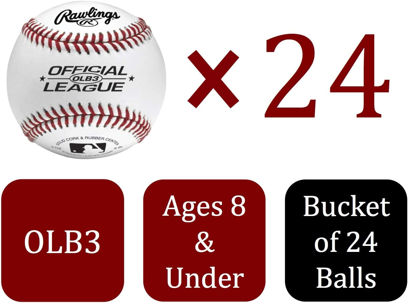 Rawlings Official League Recreational Bucket for sale online