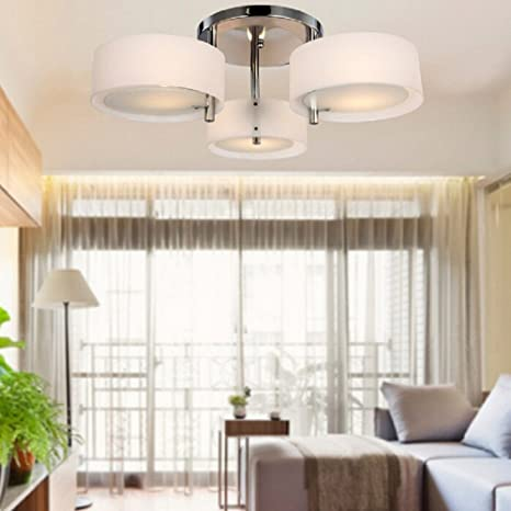 Lighitng Groups Modern Simple Round Chandelier Led Ceiling ...