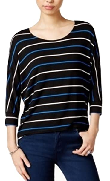 db077b648a5c3 Image Unavailable. Image not available for. Color  Maison Jules Striped  Dolman-Sleeve Top