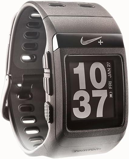 Descuidado recompensa Lectura cuidadosa  Amazon.com: Nike+ SportWatch GPS Powered by TomTom (Black): Sports &  Outdoors