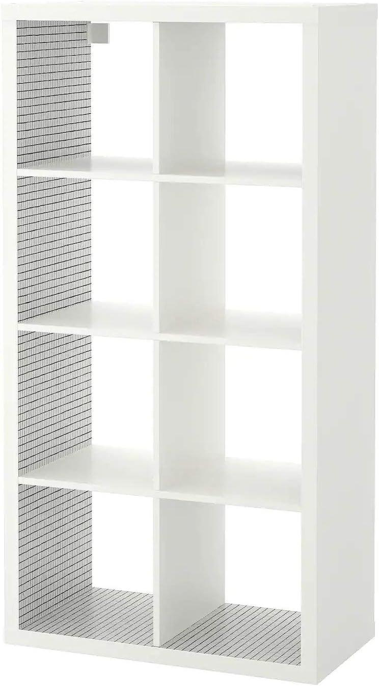 IKEA KALLAX - Estantería, Color Blanco, a Cuadros, 77 x 147 ...