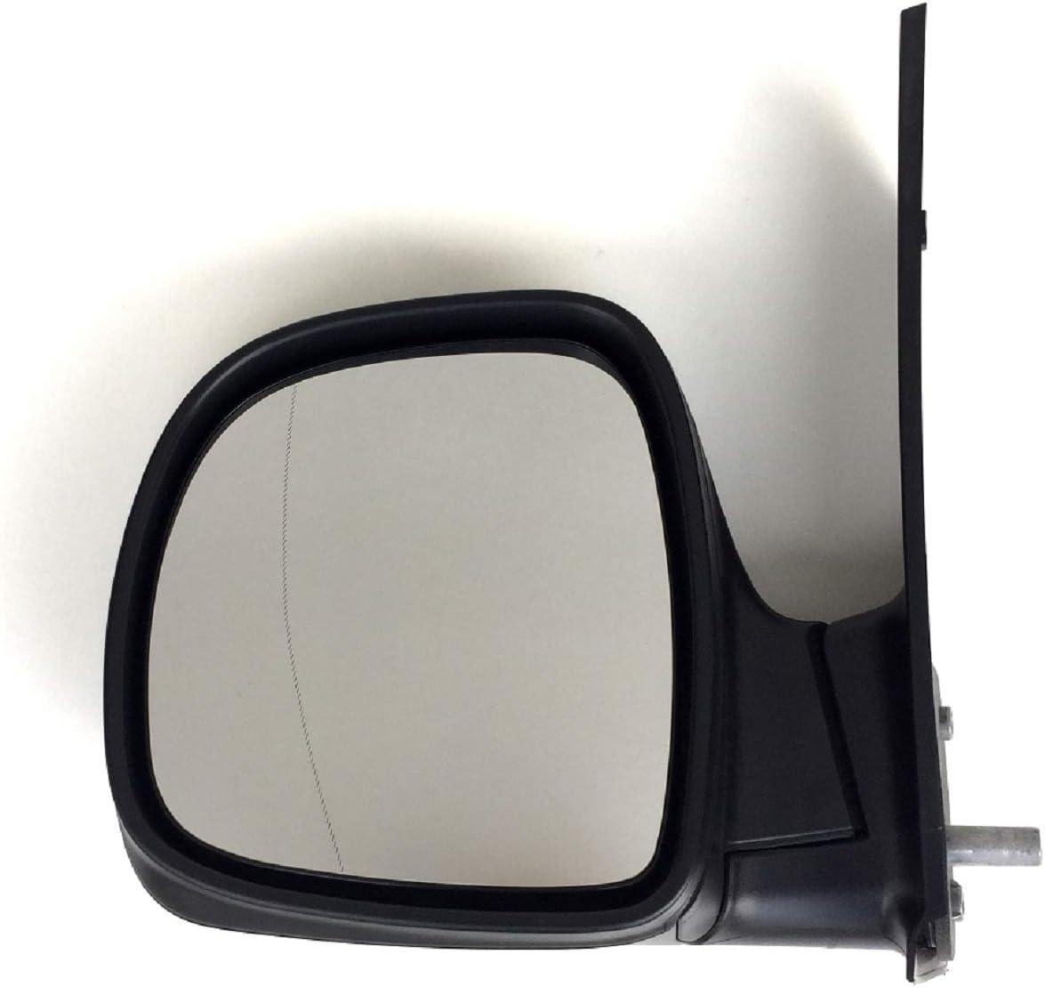 Pro!Carpentis Spiegel Aussenspiegel links kompatibel mit Vito W 639 bis 09//2010 NICHT beheizbar manuell verstellbar schwarze Kappe KEINE Wagenfarbe