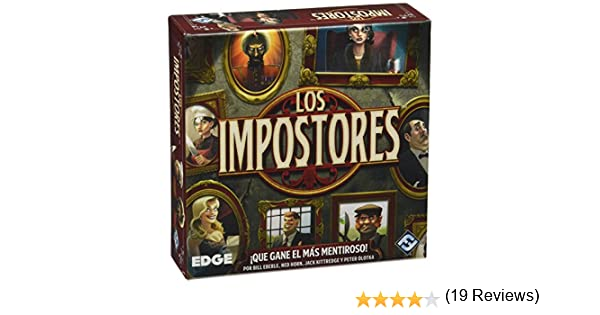 Edge Entertainment - Los Impostores EDGVA94: Amazon.es: Juguetes y juegos