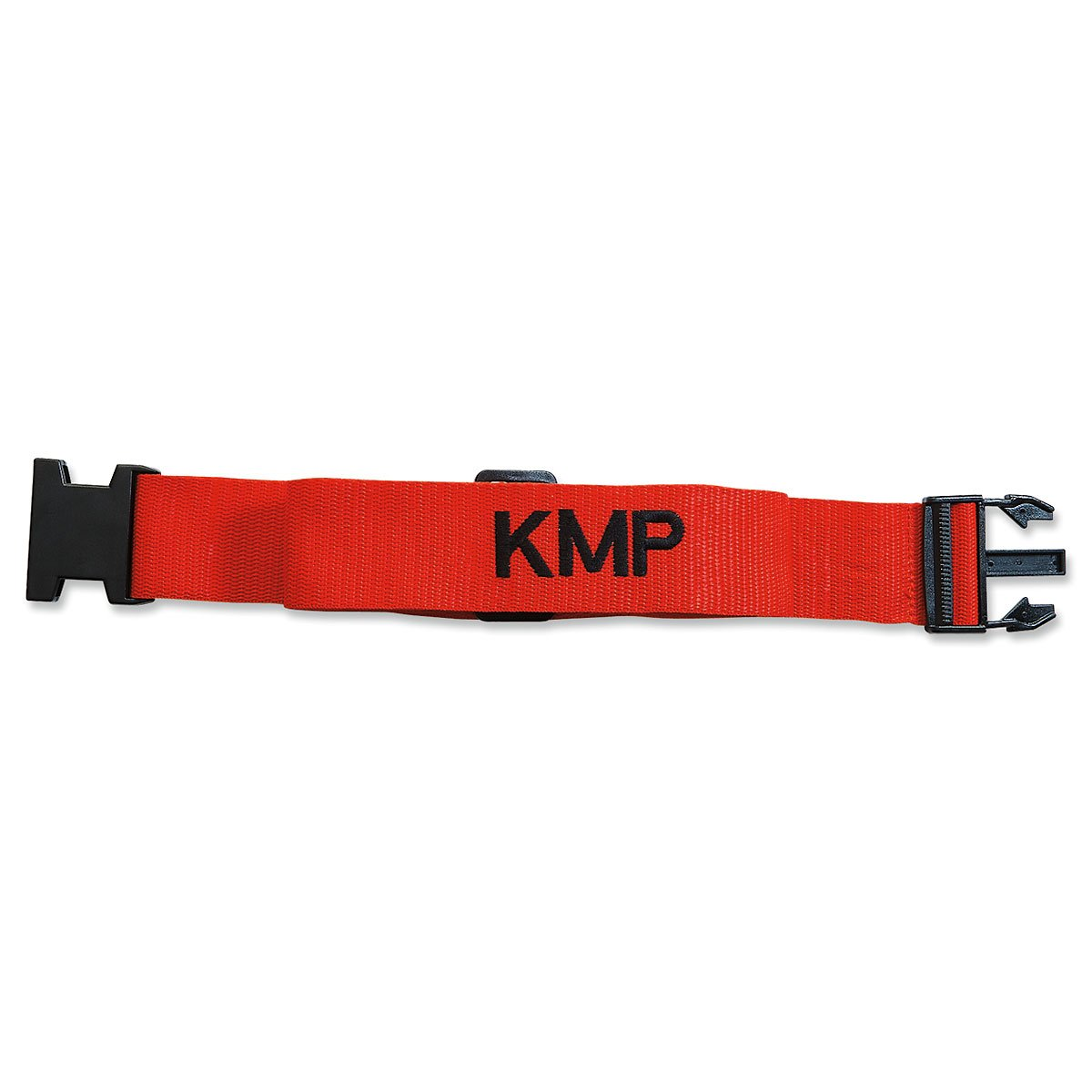 Personalized Red Luggage Strap - 2'' W woven strap adjusts from 35'' to 64'' L by Lillian Vernon