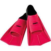 Maru Training Fins - Neon Pink and Black