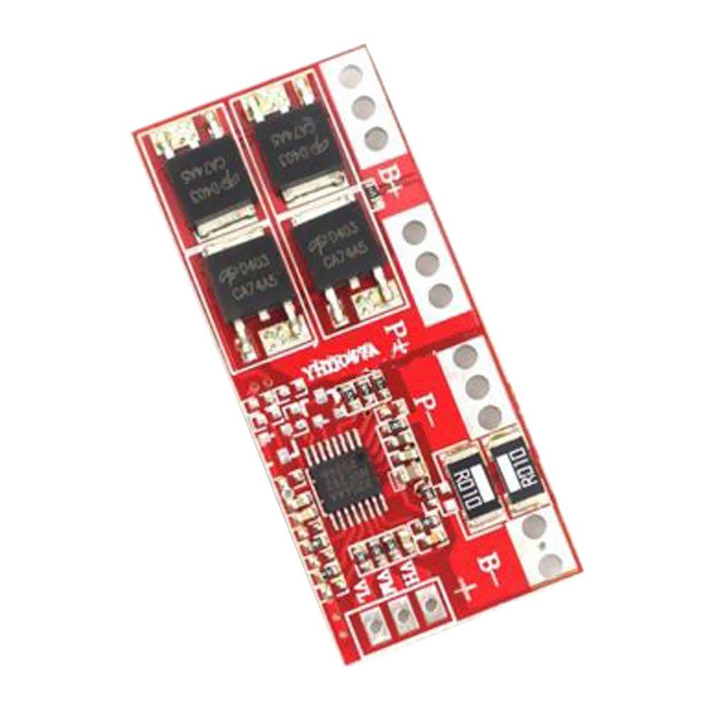 Homyl BMS Scheda Protezione Batteria Modulo al Litio 14.8v 16.8v Cricabatteria Litio 4S Temperatura Esercizio 40-85 ℃