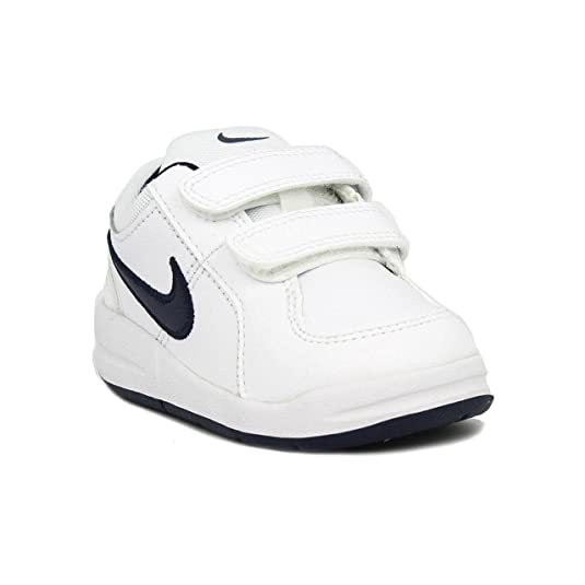 Amazon.com | Nike PICO 4 (TD) (BOYS TODDLER) (7) White/Midnight Navy | Sneakers