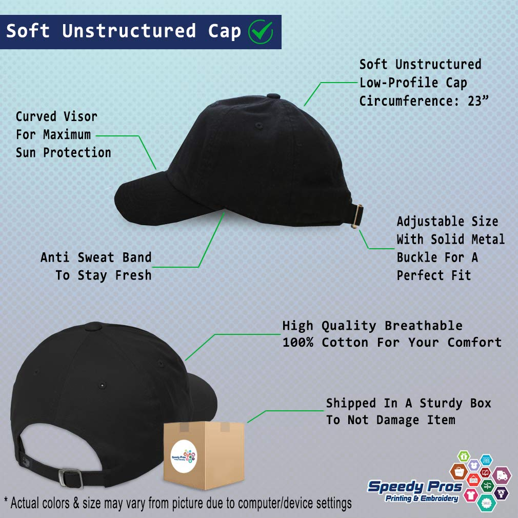 Custom Soft Baseball Cap B-2 Stealth Bomber Embroidery Dad Hats for Men /& Women