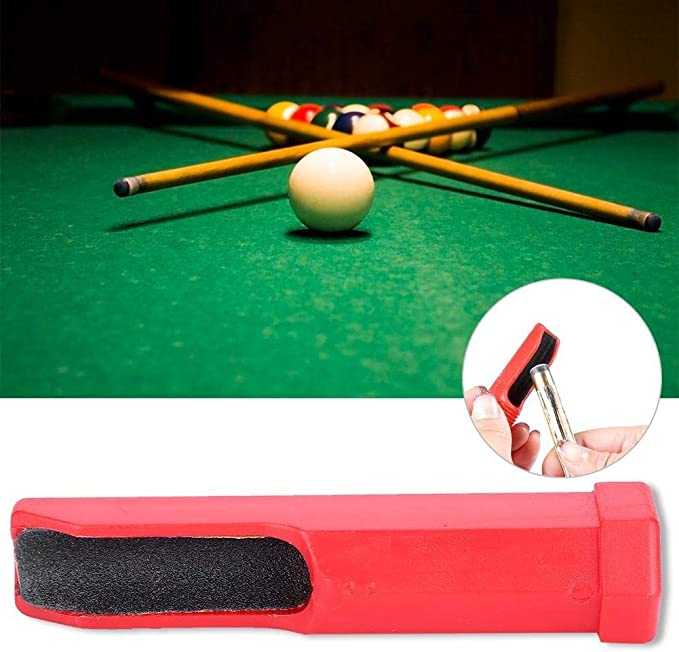 Herramienta de Taco - Mini Herramienta de reparación de podadoras de Taco de Piscina portátil Billar Stick Tips Accesorio de molienda: Amazon.es: Deportes y aire libre