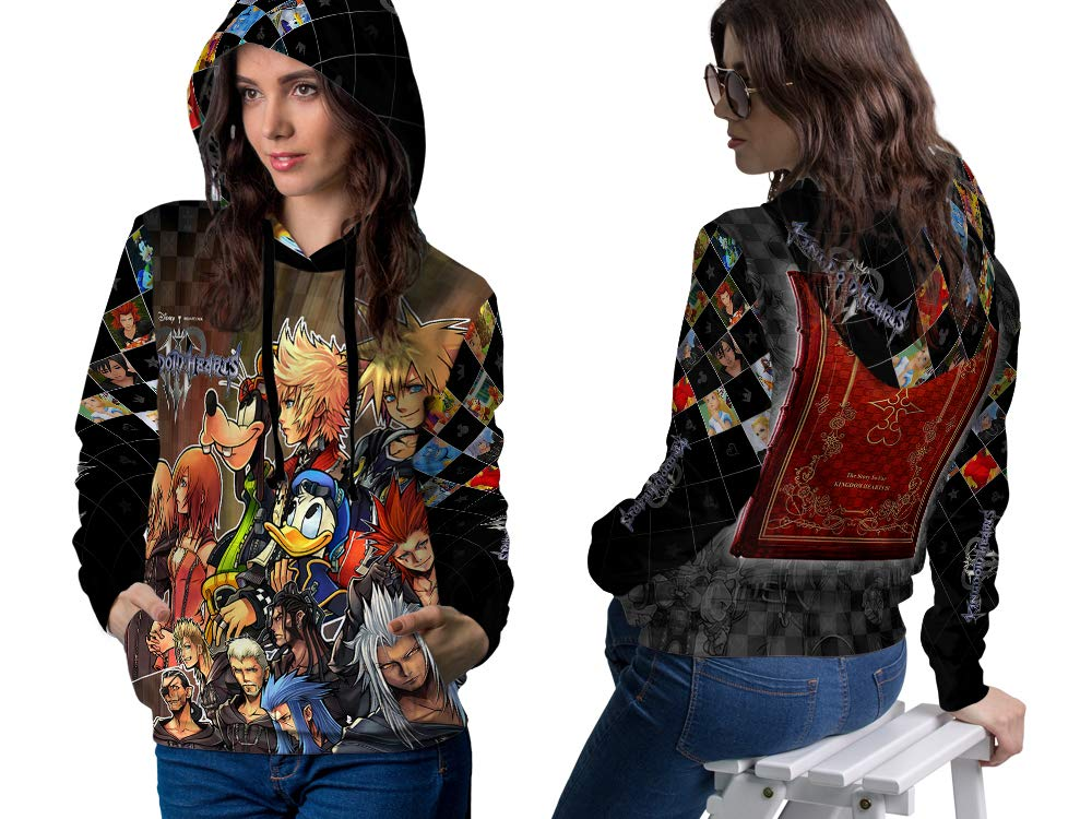 2season5 Kingdom Hearts Fans All Over Print Pullover Hoodie Mens Women Sweatshirts 1