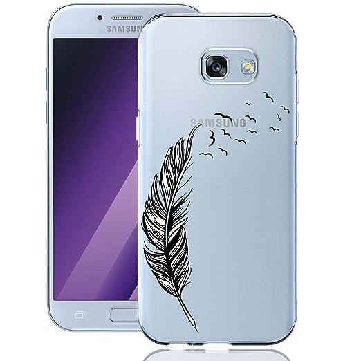 14 opinioni per Galaxy A5 2017 Custodia, ocketcase® Morbido Flessibile TPU Gel Silicone Cover