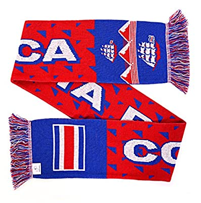 Costa Rica Soccer Knit Scarf