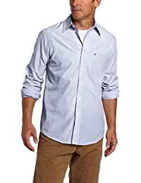 Men's Premium Performance Natural Stretch Check Long Sleeve Shirt (Big & Tall and Tall Slim)