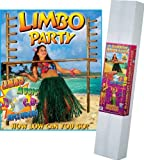 Limbo Kit Includes: 2 - 72 Poles w/Pegs; (72 Limbo Stick; Limbo Music CD) Party Accessory (1 count) (1/Pkg) by Beistle