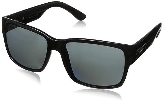 c9151653bf Amazon.com  Hoven Mosteez 51-0102 Polarized Rectangular Sunglasses ...
