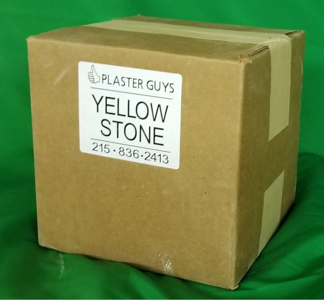 Yellow Buff Dental Lab Stone, Type III 38 lb Box