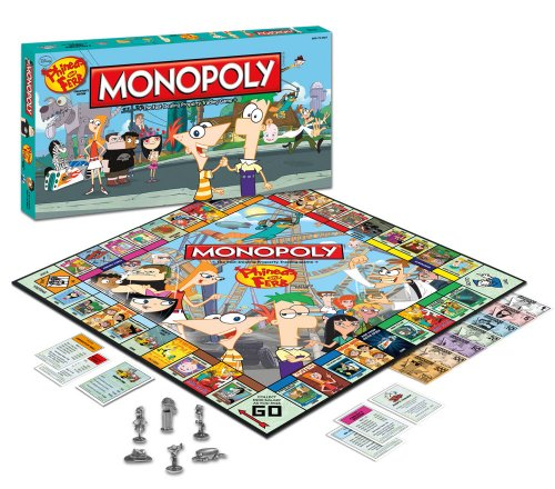 Monopoly: Phineas and Ferb Collector's -