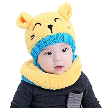 f3be2e9479d03d Sikimennzi 帽子 ベビー 可愛い ニット帽子 ウサギちゃん 赤ちゃん キッズ 帽子 耳保護付き 無地 柔らかい