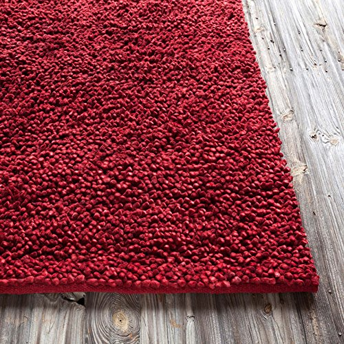 Chandra Rugs STR1110-576 Strata Hand-woven Contemporary Rug 5 ft. x 7. 5 ft.