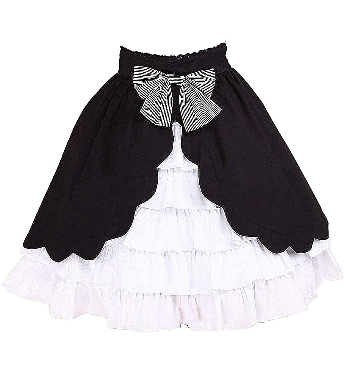 Antaina Blanca and Negra Volantes Encaje Bowknot Kawaii Sweet ...