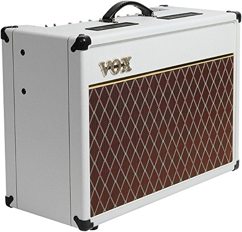VOX AC15C1WB Limited White Bronco Electric Guitar Amplifier by Vox