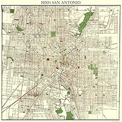 City Of San Antonio Map on