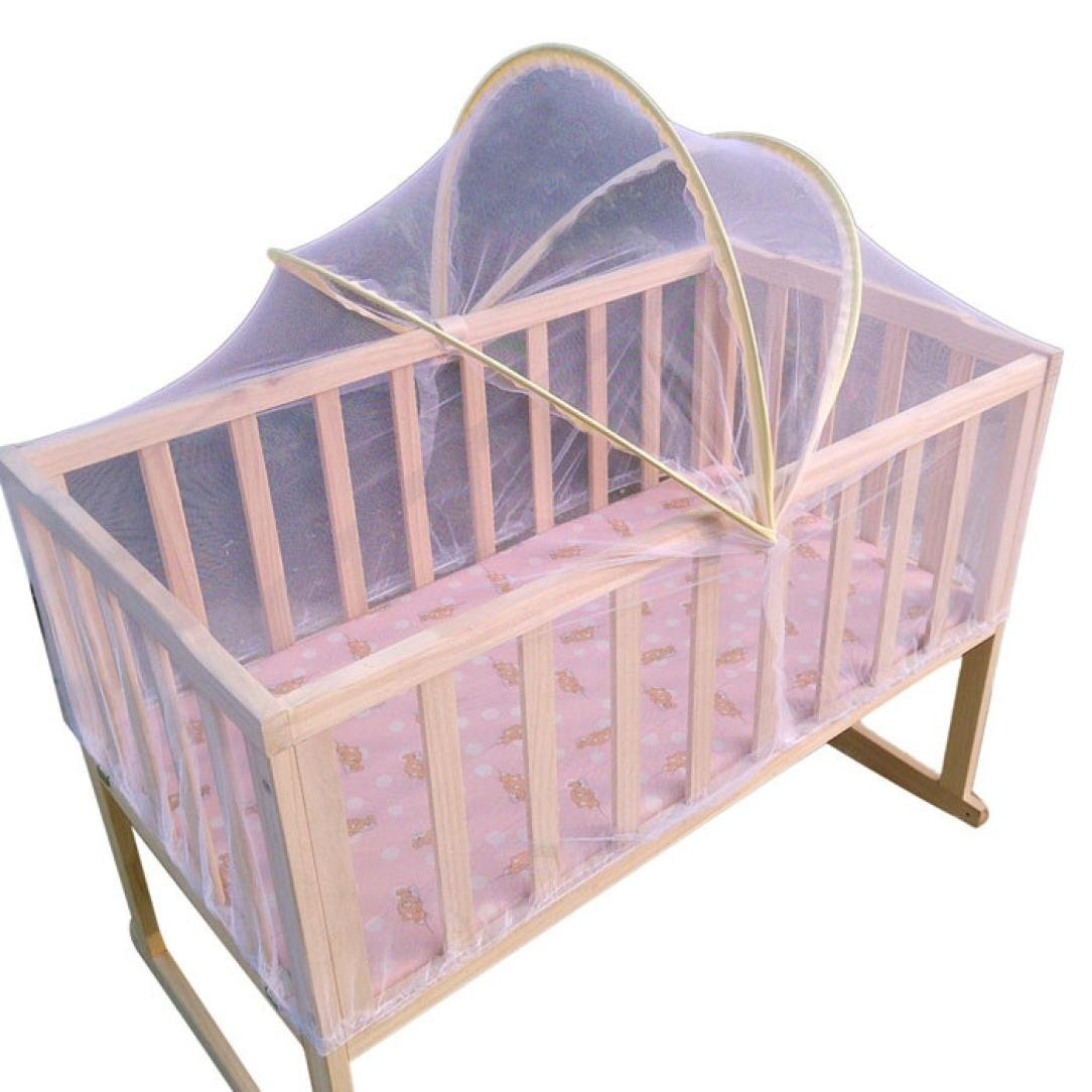 Kolylong Universal Baby Cradle Bed Mosquito Nets Summer Baby Safe Arched Mosquitos Net