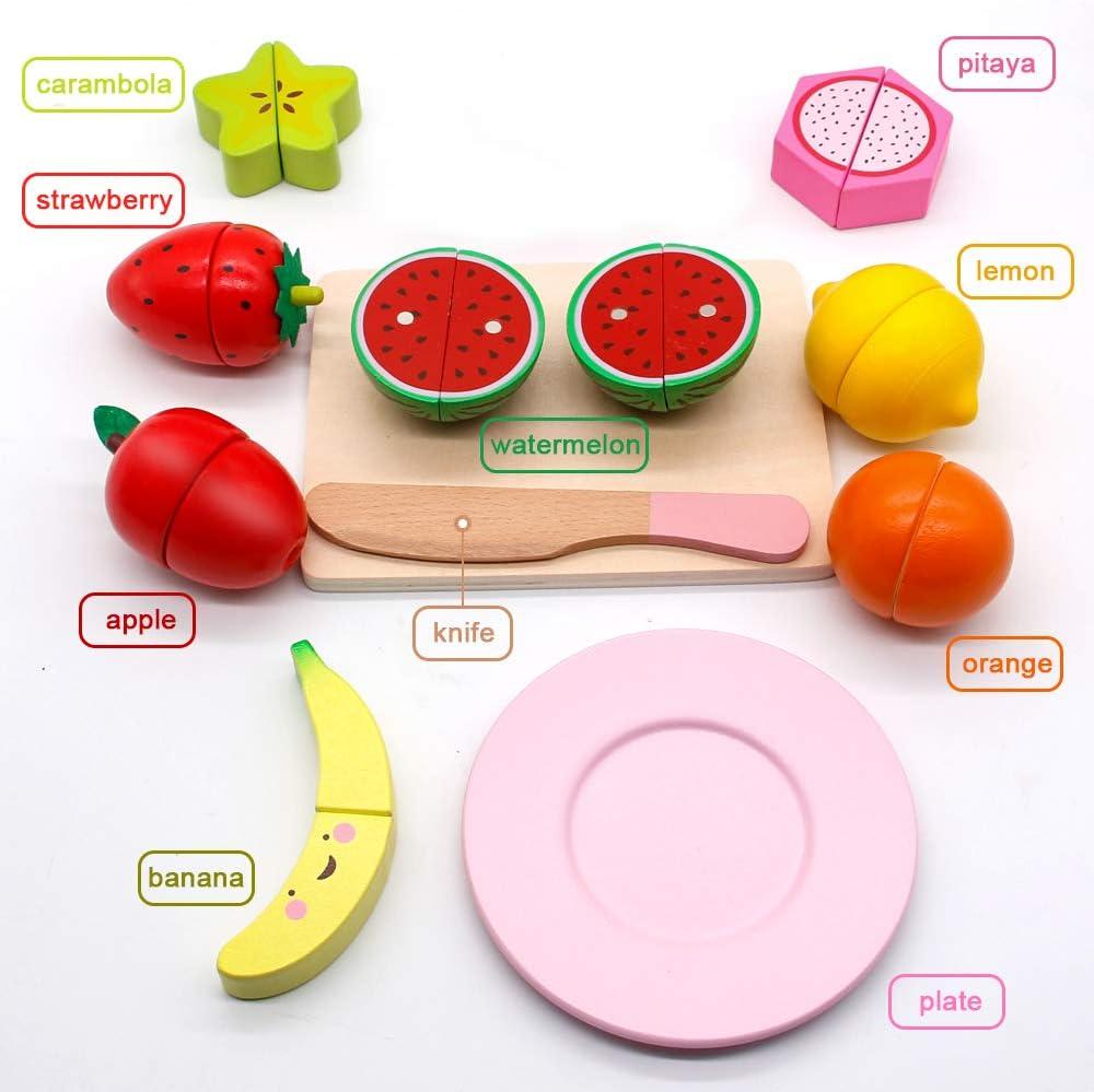 7 pezzi Banane in feltro frutta accessori gioco cucina per Bambini