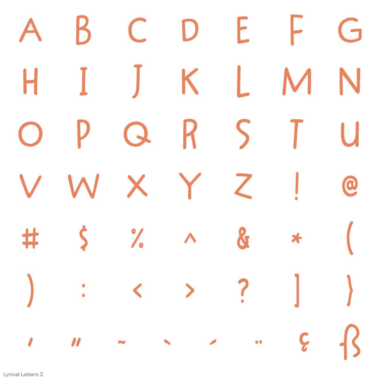 Cricut Lyrical Letters 2 Cartridge by Cricut (Image #13)