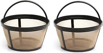 Amazon.com: 4-Cup cesta estilo Permanente Filtros de café ...