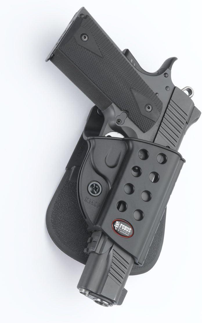 Fobus Colt 1911& hi-capa W/Rails roto Paddle Holster (KMSP RT)