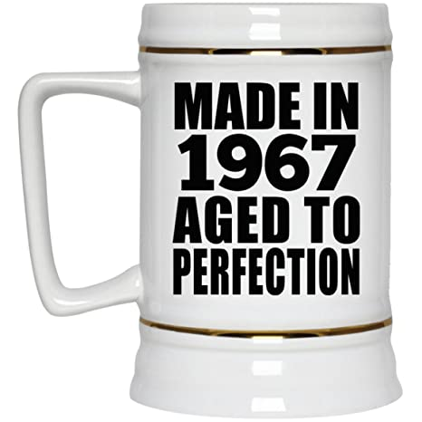 Amazon Com Birthday Gift Idea Made In 1967 Aged To Perfection