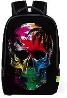 Lisin Women Men 3D Travel Satchel Backpack Rucksack Shoulder Bookbag School Bag