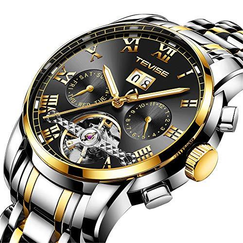 Men Watches Wrist Watch Mens Digital Automatic Automatic Men Mechanical Watch Moon Phase Clock Mens Business Wristwatches