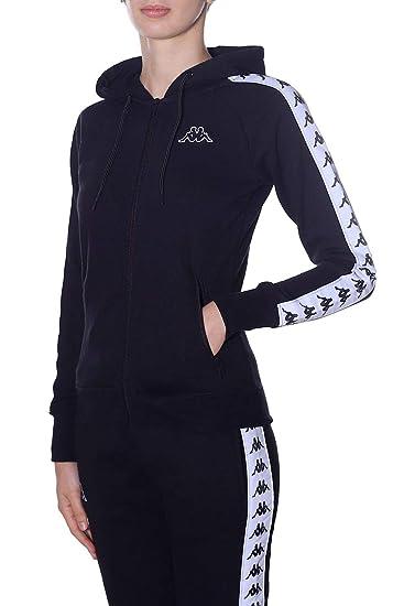 4a497d44 Robe di Kappa Women's Hoodie Black Nera - Black - XS: Amazon.co.uk: Clothing