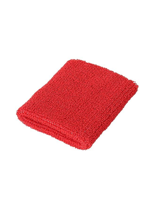 Amazon.com : eDealMax Atlética de algodón Tela de toalla gruesa Protector de la muñeca Banda de sudor DE 10 paquetes de Red : Sports & Outdoors