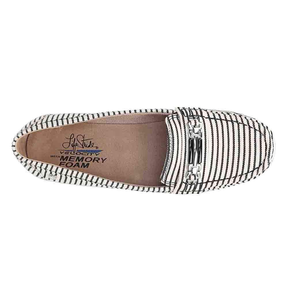 LifeStride Womens Vanity Driving Style Loafer