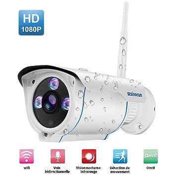 Cámara HD Wifi Inalámbrica 1080P IP Seguridad Cámara de ...