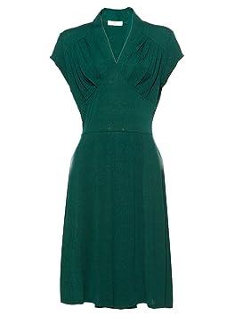 CLE DE TOUS - Vestido Vintage & Retro Vestido Largo para Mujer Swing 1940s Swing Pinup