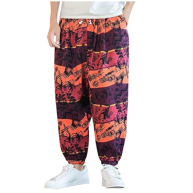 Amazon.com: Alalaso - Pantalón de playa para hombre, de ...