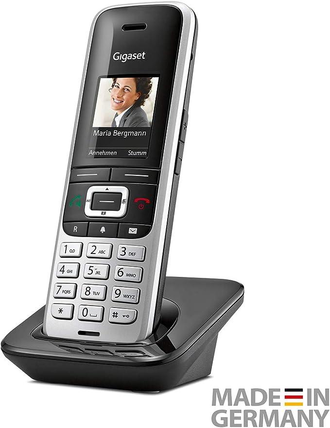 Gigaset S850HX Analog/DECT Telephone Negro, Plata Identificador de Llamadas: Amazon.es: Electrónica