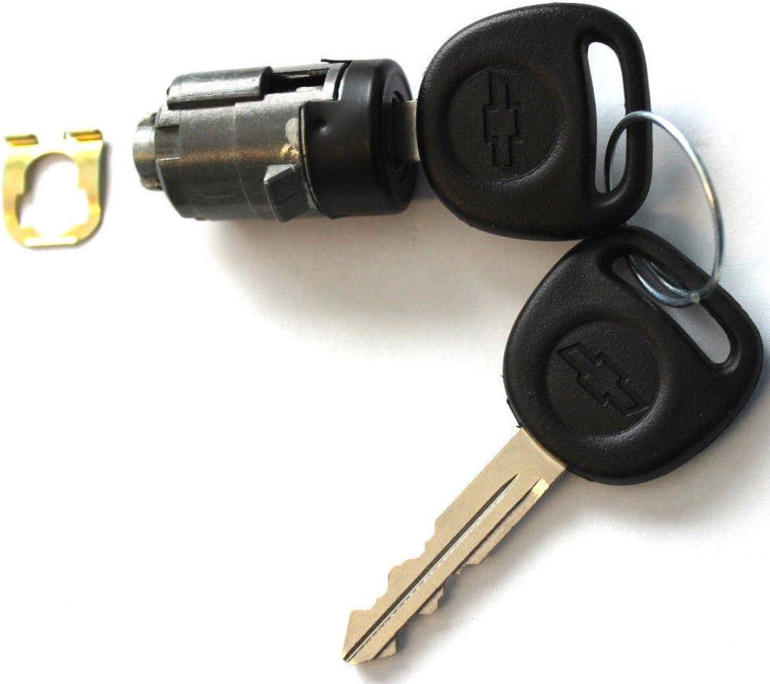 OEM DOOR LOCKS CYLINDER LOCKSET 2 OEM LOGO KEYS TO MATCH PAIR NEW CHEVY 2