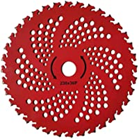 "Kurt-Saw 2-Pack 9"" 36 Teeth Carbide Tipped Blades for Brush Cutter, Trimmer, Weed Eater"
